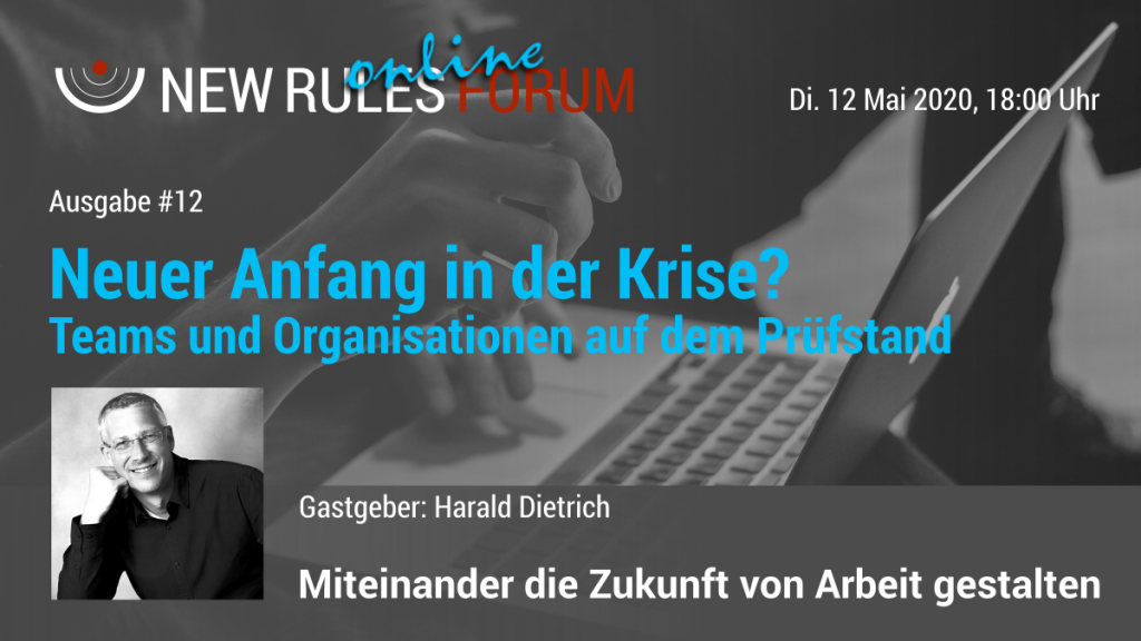 Banner zum 12. New Rules Online Forum